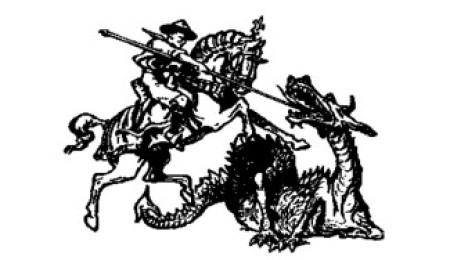 St George slaying a Dragon
